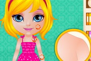 Baby Barbie Summer Glittery Tatto