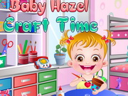 Baby Hazel Craft Time