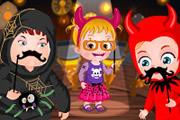 Baby Hazel Halloween Castle