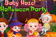 Baby Hazel Halloween Party
