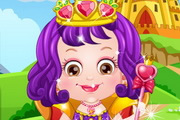 Baby Hazel Royal Princess Dressup