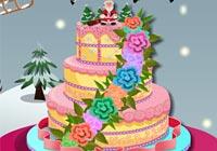 Baby Lisi Christmas Cake