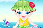 Baby Lulu Bathing