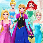 Barbie Cosplay Disney Princess Challenge