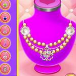 Design Necklace For Square Collar