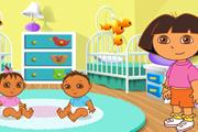 Даша Слеопыт заботится о малышах