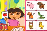 Dora Bingo Card