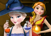 Elsa And Anna Superpower Potions