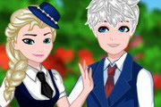 Elsa And Jack College Date