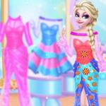 Elsa Custom Dress Design