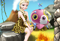 Elsa Time Travel Prehisoric Age