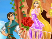 Flynn and Maximus saving Rapunzel