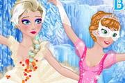 Эльза и Анна - балерины
