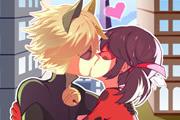 Поцелуй прекрасной Леди Баг