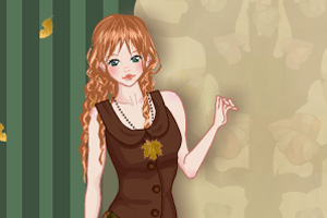 Mori girl fashion dress up game