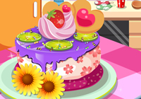 My Favorite Fruits Cake