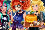 Соревнование принцесс на Хеллоуин