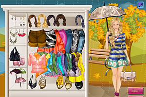 Rainy Fall Dress Up