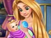 Rapunzel Baby Caring