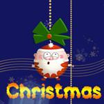 Red Christmas Panda