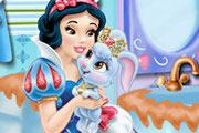 Snow White Bathroom Clean-up
